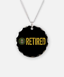 U.S. Army: Retired Necklace