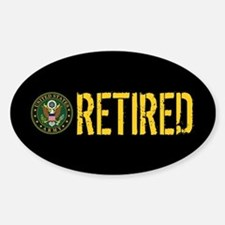 U.S. Army: Retired Decal