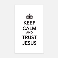 Keep Calm And Trust Jesus Decal