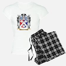 Mcclintock Coat of Arms - F Pajamas