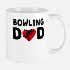 Bowling Dad Mugs