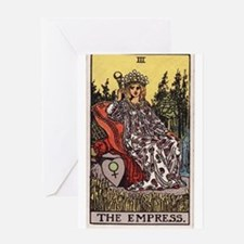 """The Empress"" Greeting Card"