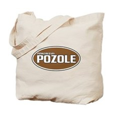 Powered By Pozole Tote Bag