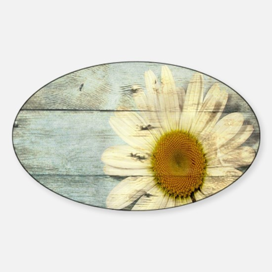 shabby chic country daisy Decal