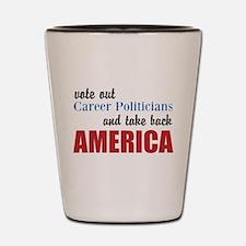 Career Politicians Shot Glass