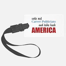Career Politicians Luggage Tag