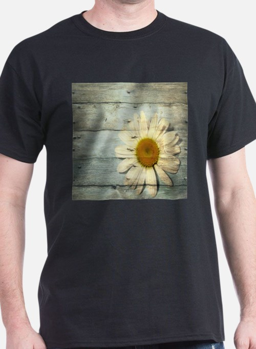 shabby chic country daisy T-Shirt