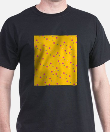 Yellow Polka Dots Party Linda's Fave T-Shirt
