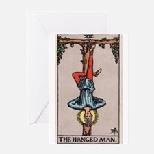 """The Hanged Man"" Greeting Card"