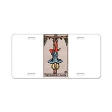 """The Hanged Man"" Aluminum License Plate"