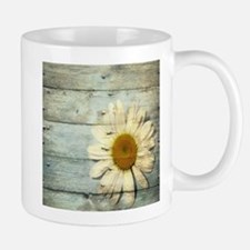 shabby chic country daisy Mugs