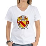 Filera Family Crest Women's V-Neck T-Shirt