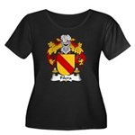 Filera Family Crest Women's Plus Size Scoop Neck D