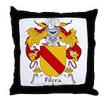 Filera Family Crest Throw Pillow