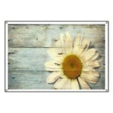 shabby chic country daisy Banner