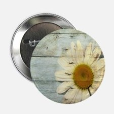 """shabby chic country daisy 2.25"""" Button (100 pack)"""