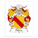 Filera Family Crest Small Poster