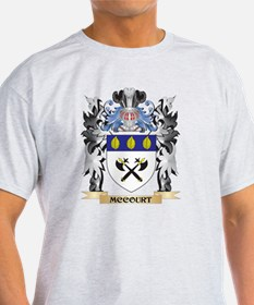 Mccourt Coat of Arms - Family Crest T-Shirt