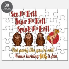 105th Birthday Party Gift Puzzle