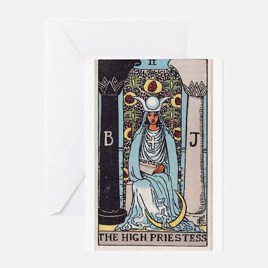"""The High Priestess"" Greeting Card"