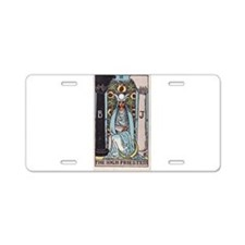 """The High Priestess"" Aluminum License Plate"