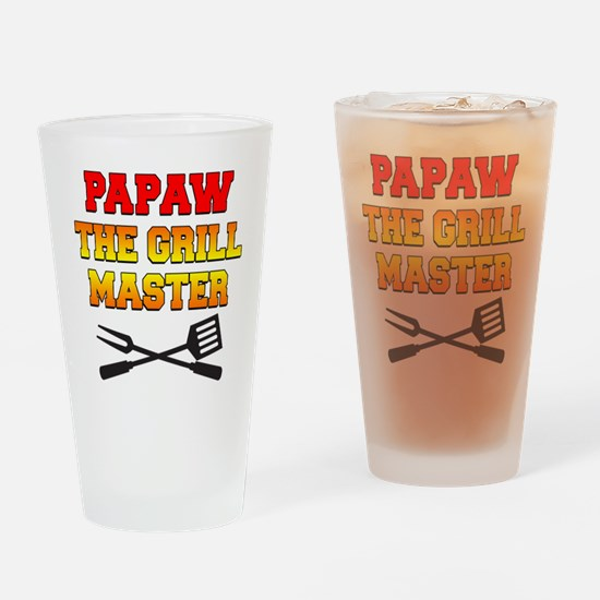 Papaw The Grill Master Drinkware Drinking Glass