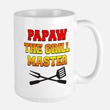 Papaw The Grill Master Drinkware Mugs