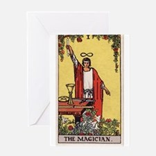 """""""The Magician"""" Greeting Card"""