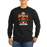 Fierro Family Crest Long Sleeve Dark T-Shirt
