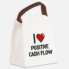 I love Positive Cash Flow Digital Canvas Lunch Bag