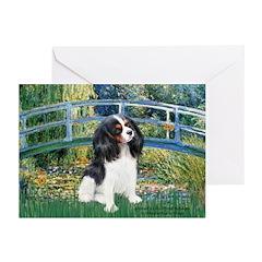 Bridge & Tri Cavalier Greeting Cards (Pk of 20)