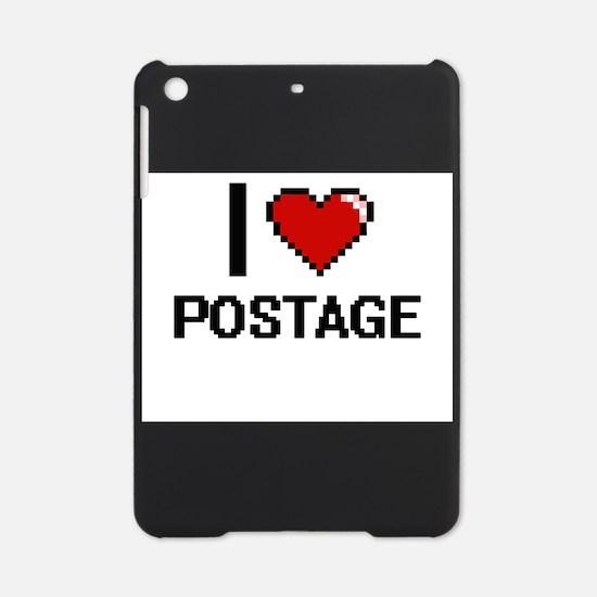 I Love Postage Digital Design iPad Mini Case