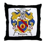 Ferrera Family Crest Throw Pillow