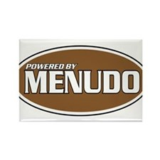 Powered By Menudo Rectangle Magnet