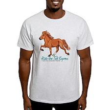 Icelandic Horse Tolt, Chestnut T-Shirt