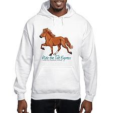 Icelandic Horse Tolt, Chestnut Hoodie