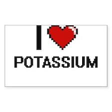 I Love Potassium Digital Design Decal
