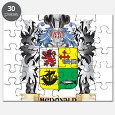 Mcdonald- Coat of Arms - Family Crest Puzzle