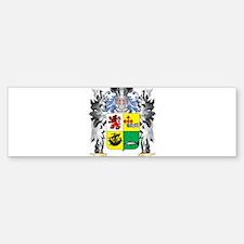 Mcdonald- Coat of Arms - Family Cre Bumper Bumper Bumper Sticker