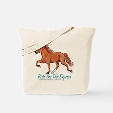 Icelandic Horse Tolt, Chestnut Tote Bag