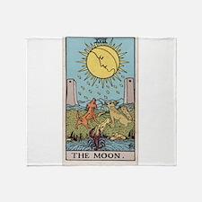 """The Moon"" Throw Blanket"