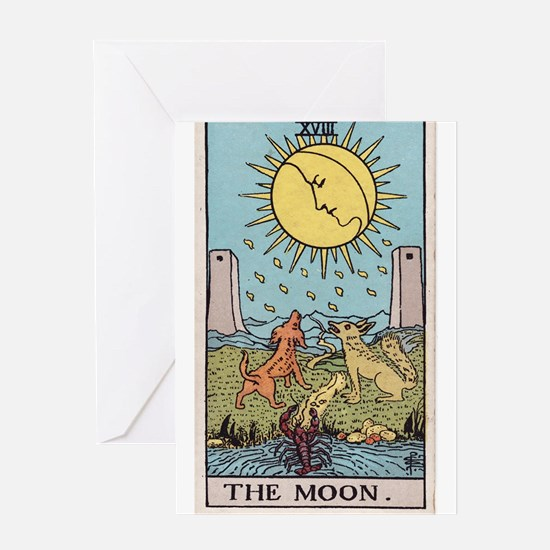 """""""The Moon"""" Greeting Card"""