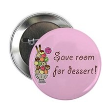 "Wait Staff Dessert 2.25"" Button (10 Pack)"