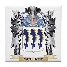 Mcelroy Coat of Arms - Family Crest Tile Coaster