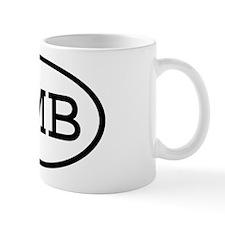 HMB Oval Mug