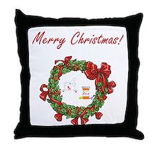 Pharmacist Merry X-mas Throw Pillow