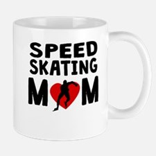 Speed Skating Mom Mugs