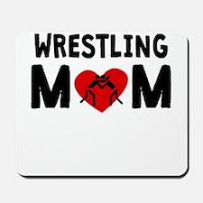 Wrestling Mom Mousepad