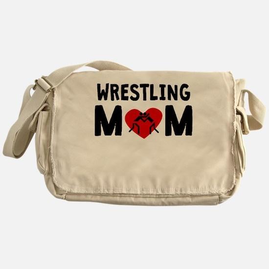 Wrestling Mom Messenger Bag