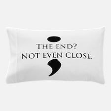 Semicolon Unfinished Pillow Case
